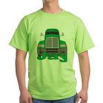 Trucker Jay Green T-Shirt