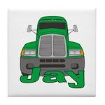 Trucker Jay Tile Coaster