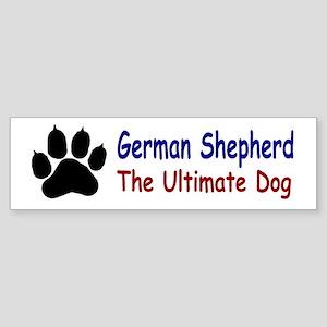 GSD Ultimate Paw Sticker (Bumper)