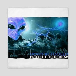 project bluebeam Queen Duvet