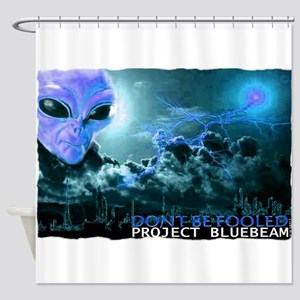 project bluebeam Shower Curtain