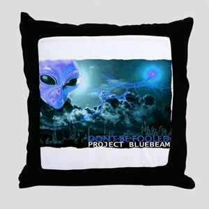 project bluebeam Throw Pillow