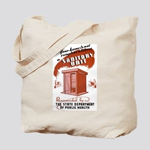 Sanitation Unit WPA Poster Tote Bag