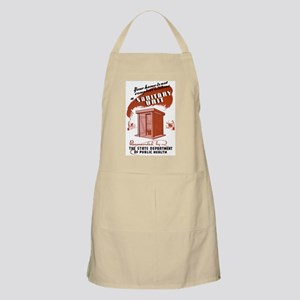 Sanitation Unit WPA Poster Apron