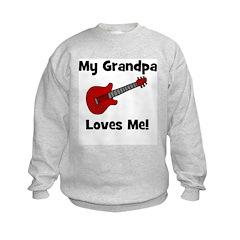 My Grandpa Loves Me! w/guitar Sweatshirt