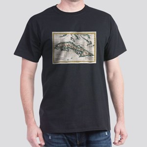 Vintage Map of Cuba (1780) T-Shirt