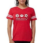 D.C. Sports Fan Womens Football Shirt