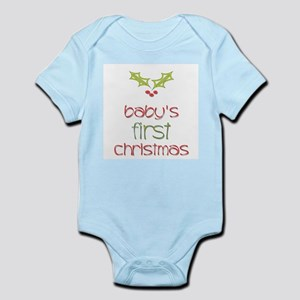 Baby's First Christmas Holly Infant Creeper
