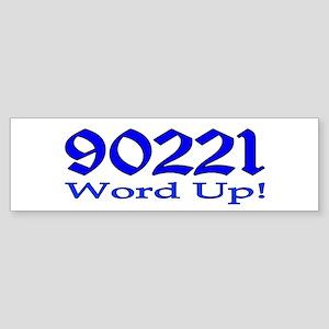 90221 Compton California Sticker (Bumper)
