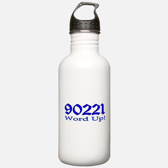 90221 Compton California Water Bottle