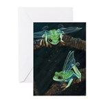 Wishing Frog II Greeting Cards (Pk of 20)