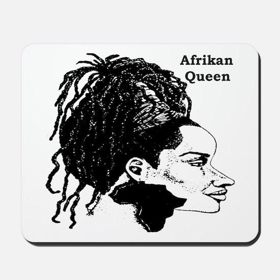 Afrikan Queen Mousepad