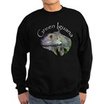 Green Iguana Sweatshirt (dark)