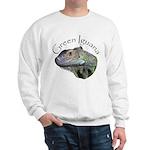 Green Iguana Sweatshirt