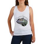 Green Iguana Women's Tank Top