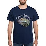 Green Iguana Dark T-Shirt