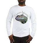 Green Iguana Long Sleeve T-Shirt