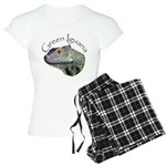 Green Iguana Women's Light Pajamas