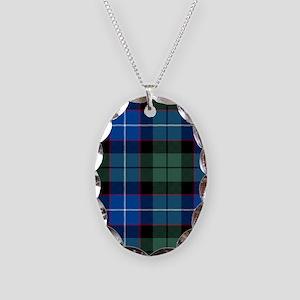 Tartan - Galbraith Necklace Oval Charm