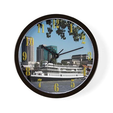 Delta King Wall Clock