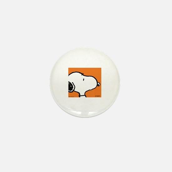 Fresh Orange Snoopy Mini Button