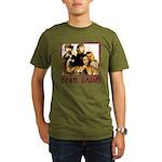 Retro 2010 Organic Men's T-Shirt (dark)