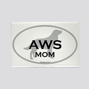 Am Water Spaniel MOM Rectangle Magnet