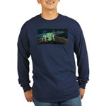 Wishing Frog II Long Sleeve Dark T-Shirt