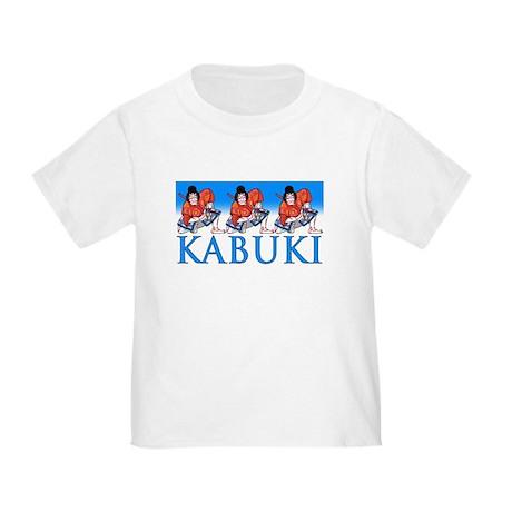 Ukiyo-e Shirt -Kabuki Actors Toddler T-Shir