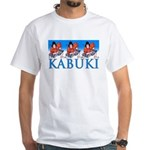 Ukiyo-e Shirt -Kabuki Actors White T-Shirt