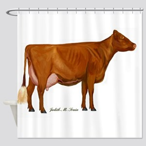 Shorthorn Trans Shower Curtain
