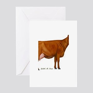Shorthorn Trans Greeting Card