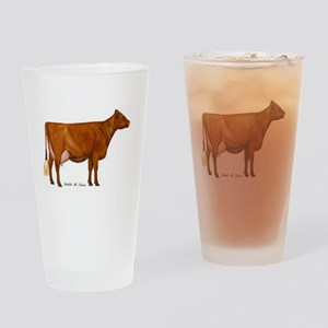 Shorthorn Trans Drinking Glass