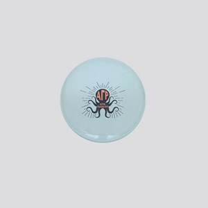 Alpha Gamma Rho Octopus Mini Button