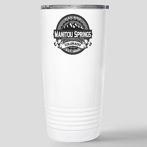 Manitou Springs Gray Stainless Steel Travel Mug