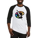 Art Shirt - 'Art Palette' Baseball Jersey