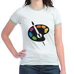 Art Shirt - 'Art Palette' Jr. Ringer T-Shirt
