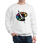 Art Shirt - 'Art Palette' Sweatshirt