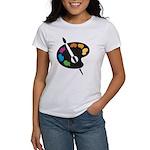 Art Shirt - 'Art Palette' Women's T-Shirt