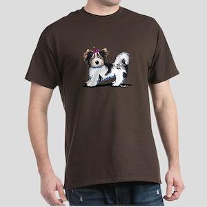 Biewer Yorkie Girl Dark T-Shirt