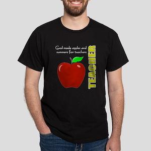 Teachers, summers, apples Dark T-Shirt