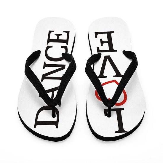 Big LOVE Dance Flip Flops