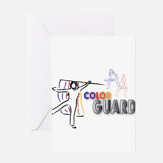 Cute Guard Greeting Card