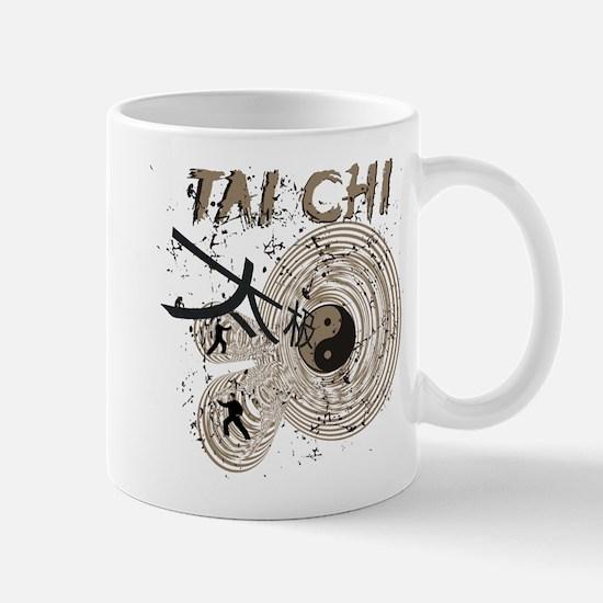 Abstract Tai Chi Mug