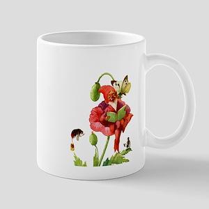 Poppy Gnome Mug
