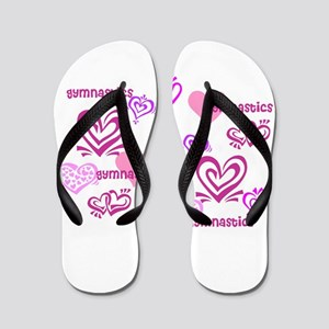 Love Gymnastics Flip Flops