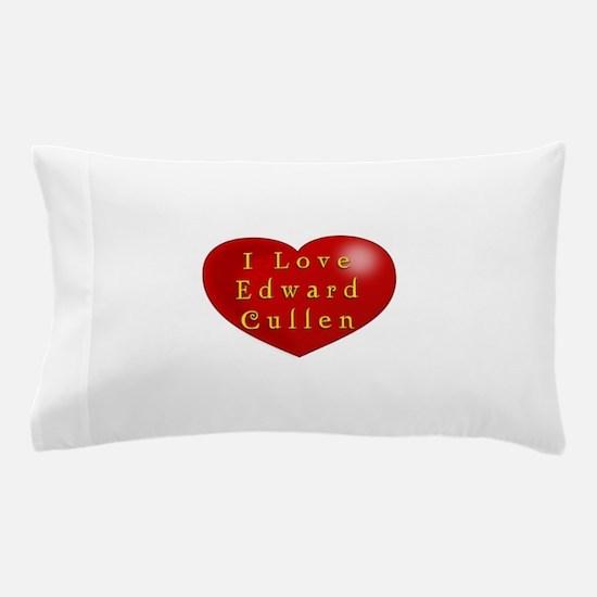 I Love Edward Cullen Pillow Case