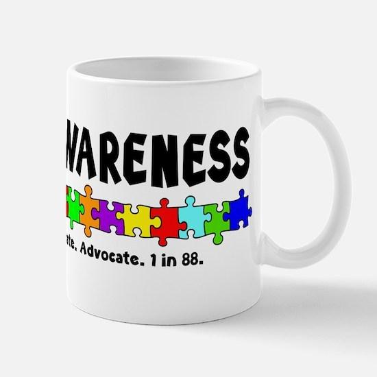 Aut Aware (Puzzle row) Mug