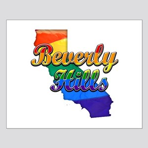 Beverly Hills, California. Gay Pride Small Poster