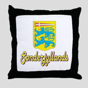 Sonderjyllands Throw Pillow